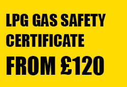 LPG Gas Safety Certifcates